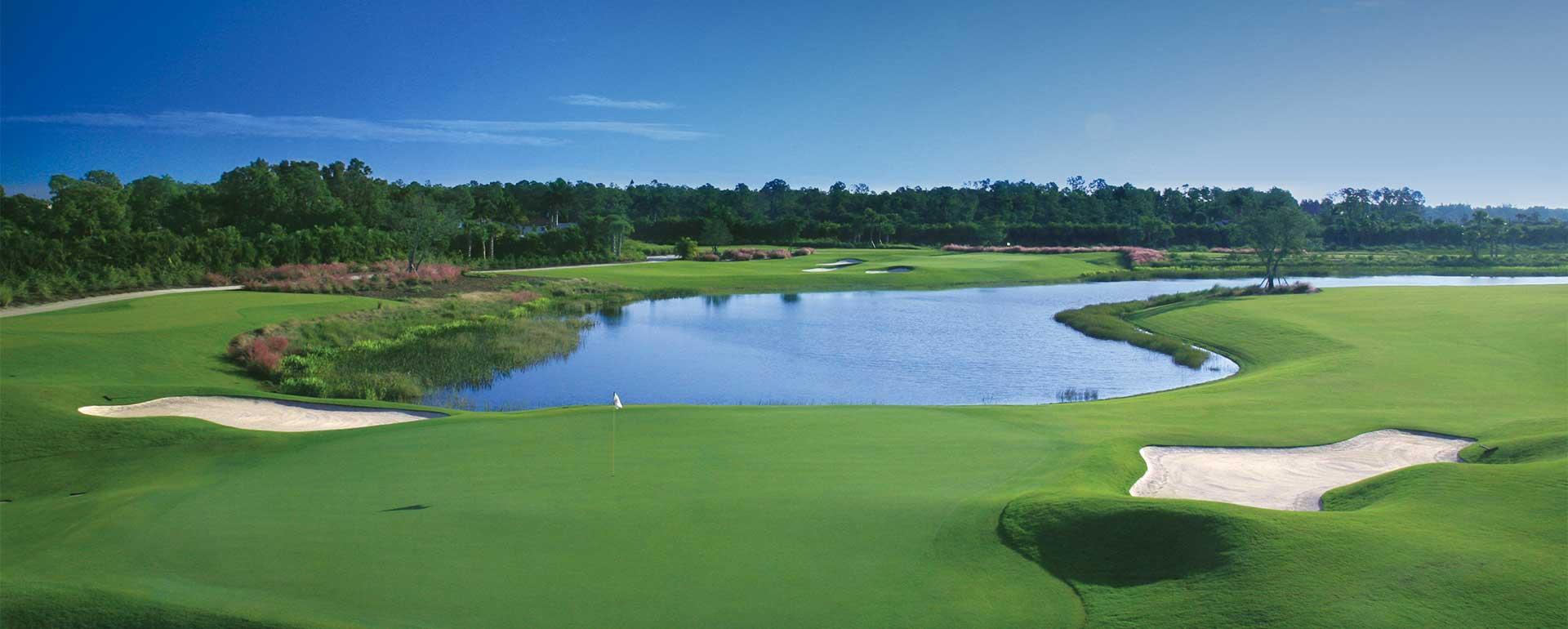 Golf Course, Treviso Bay, Peninsula, TPC Golf, Naples, Florida, Paradise Coast, Peninsula Treviso Bay