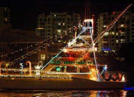 Boat Parade, Boating, Treviso Bay, Peninsula, TPC Golf, Naples, Florida, Paradise Coast, Peninsula Treviso Bay, Holiday Events